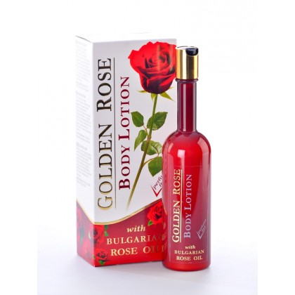 Лосьон для тела с Болгарским розовым маслом, Golden Rose - Bulfresh, Болгария