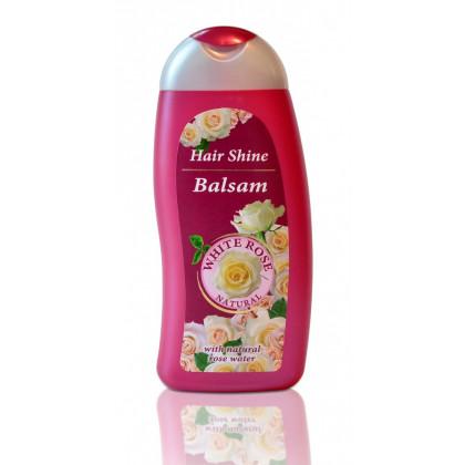 Бальзам блеск для волос с Розовой водой White Rose Natural, 250 мл. - BulFresh, Болгария
