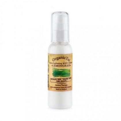 Экстраувлажняющий крем для тела Лемонграсс, 120 мл. - Organic Tai, Тайланд