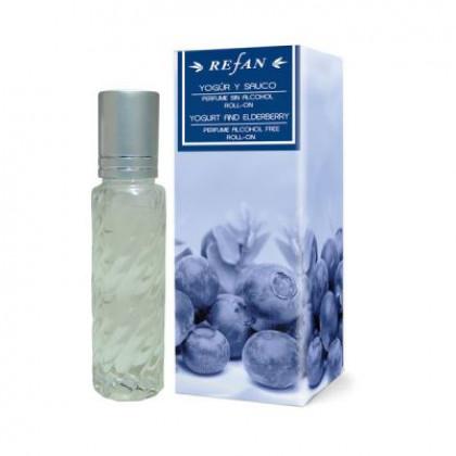 Масло парфюмированное Йогурт и Бузина, 10 мл. - Refan, Болгария