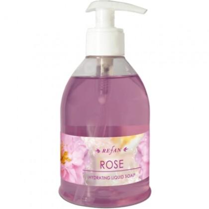 Жидкое мыло Роза Дамасская, 330 мл. - Refan, Болгария