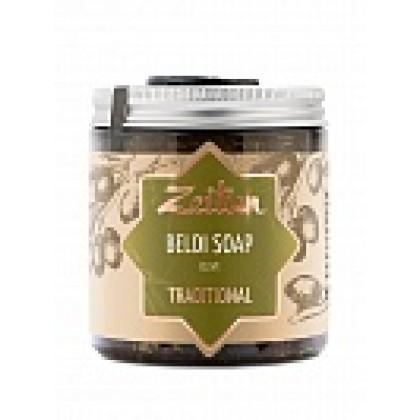 Деревенское мыло Бельди №1 традиционное с оливой и эвкалиптом, 250 мл. - Zeitun, Иордания