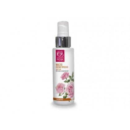 Масло косметическое Роза для лица, шеи и декольте с омолаживающим эффектом, 30 мл. - Крымская роза