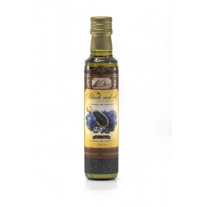 Масло Черного Тмина, пищевое, Shams Natural Oils, 250 мл. - Нефертити, Египет