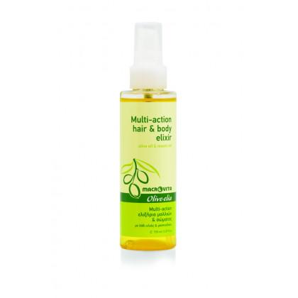 Multi-action Эликсир для волос и тела с оливковым маслом и масло мастикового дерева
