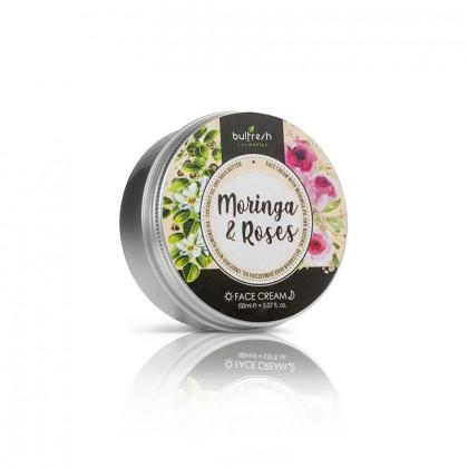 Универсальный питательный крем для лица с маслом Моринги и Розовым маслом