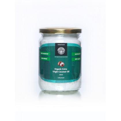 Органическое кокосовое масло холодного отжима Extra Virgin